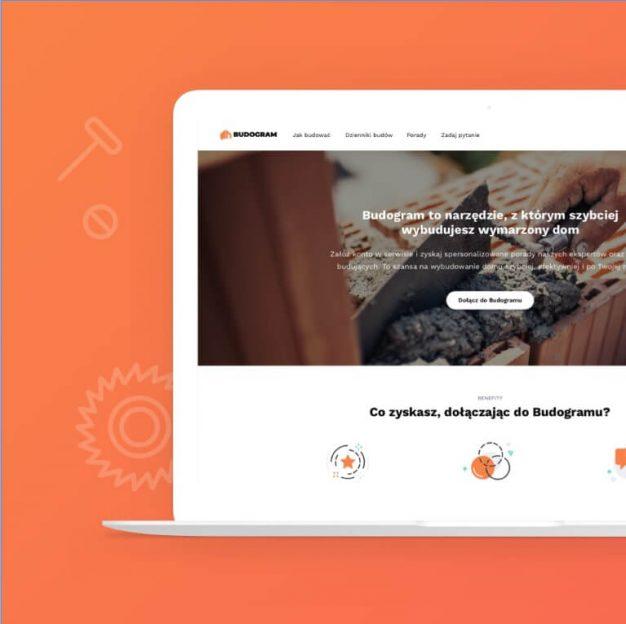 Nowa odsłona serwisu Budogram.pl - case preview image