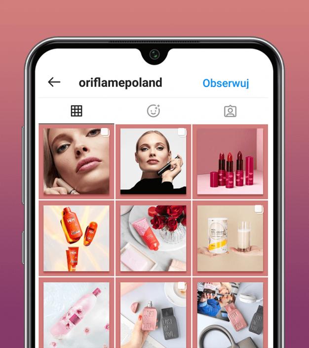 O!Pięknie z Oriflame - case preview image